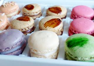 french macaron gift box