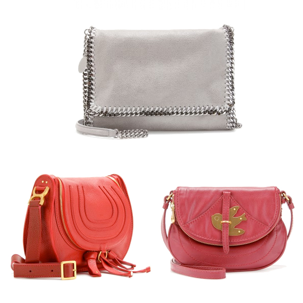 Cross body bags on www.designandfashionrecipes.com