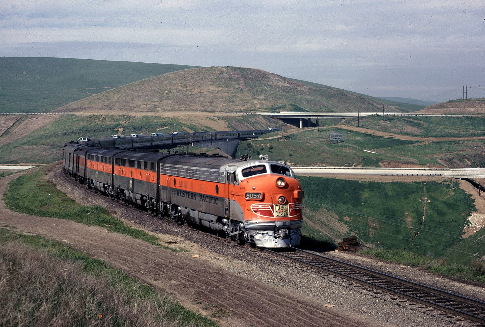 Transpress Nz Western Pacific On Altamont Pass