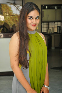 Actress Prayaga Martin Latest Picture Gallery at Pisachi Movie Success Meet 033.JPG