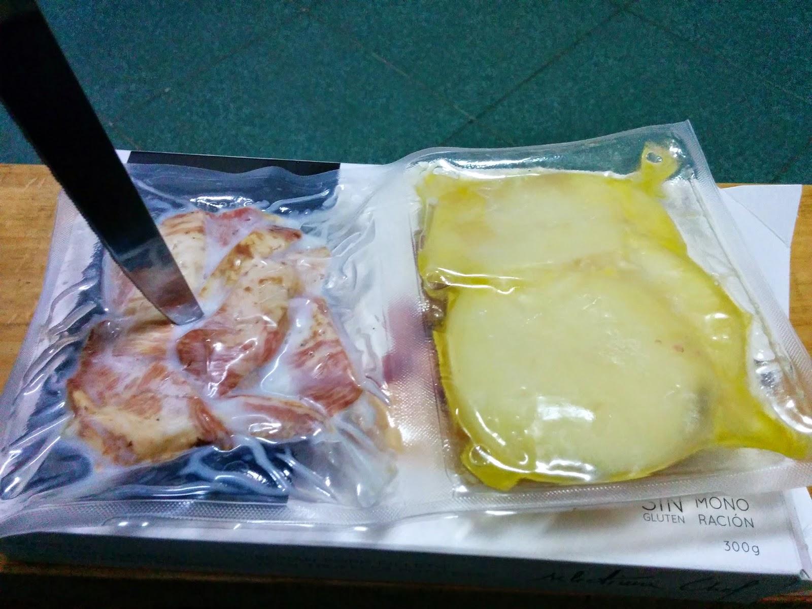 Secreto de cerdo ibérico con patatas trufadas