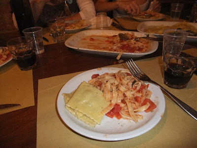 homamade ravioli and pasta, cooking class, florence italy