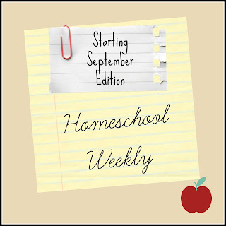 Homeschool Weekly - Starting September Edition on Homeschool Coffee Break @ kympossibleblog.blogspot.com