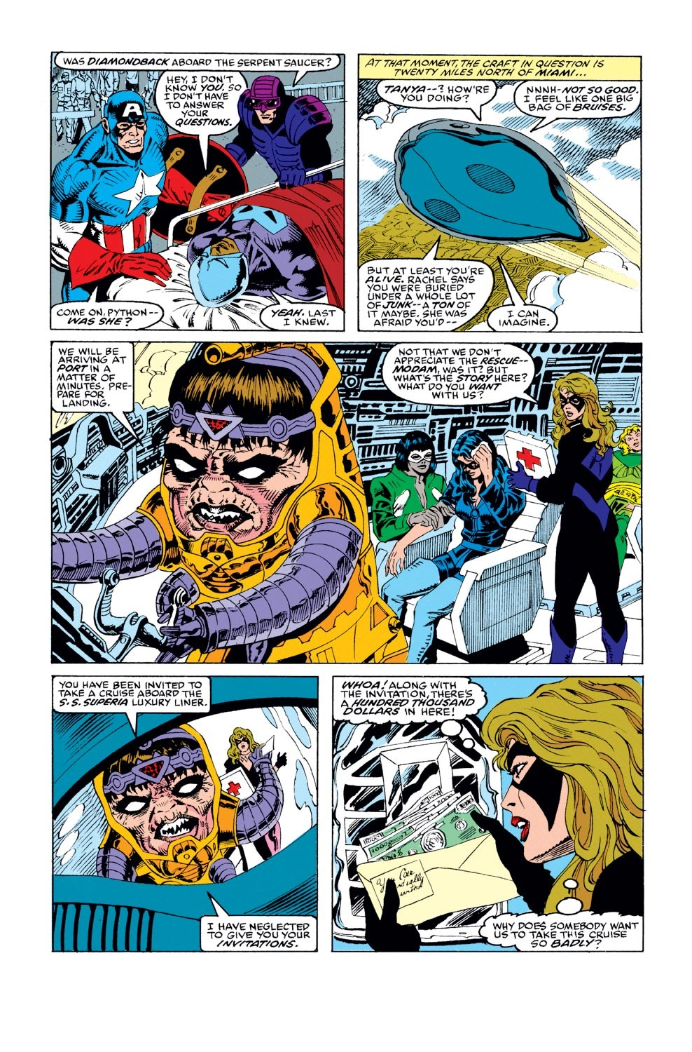 Captain America (1968) Issue #387 #320 - English 6