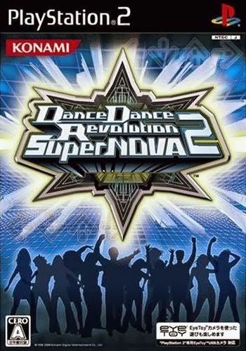 DANCE REVOLUTION SUPER NOVA 2 PS2