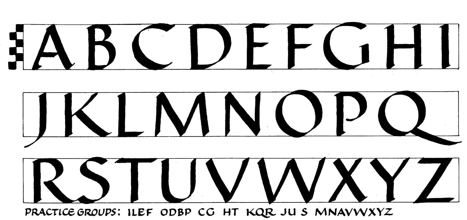 Aureus Uncial, Caligrafía Paleográfica, Calligraphy Uncial ...