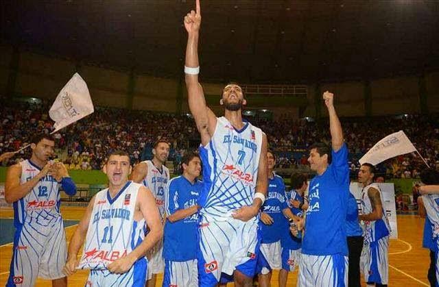 El Salvador-Bahamas-Centrobasket