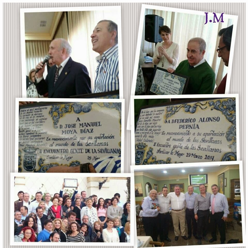Homenaje a J. M Moya y Federico Alonso Pernía
