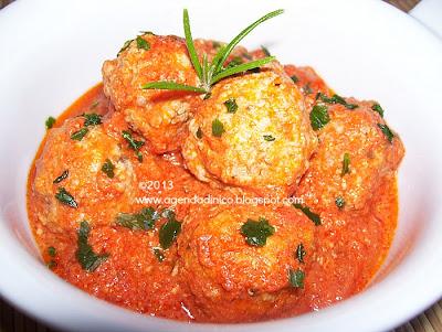 Agenda di nico polpette alla paprika affumicata con sugo - Forno microonde e tradizionale insieme ...