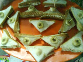 banana sandwiches