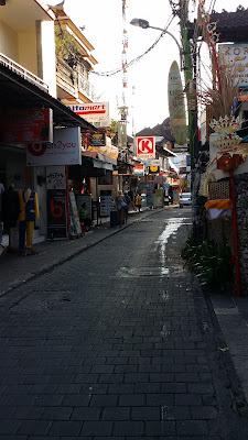 Calle de Kuta (Bali)