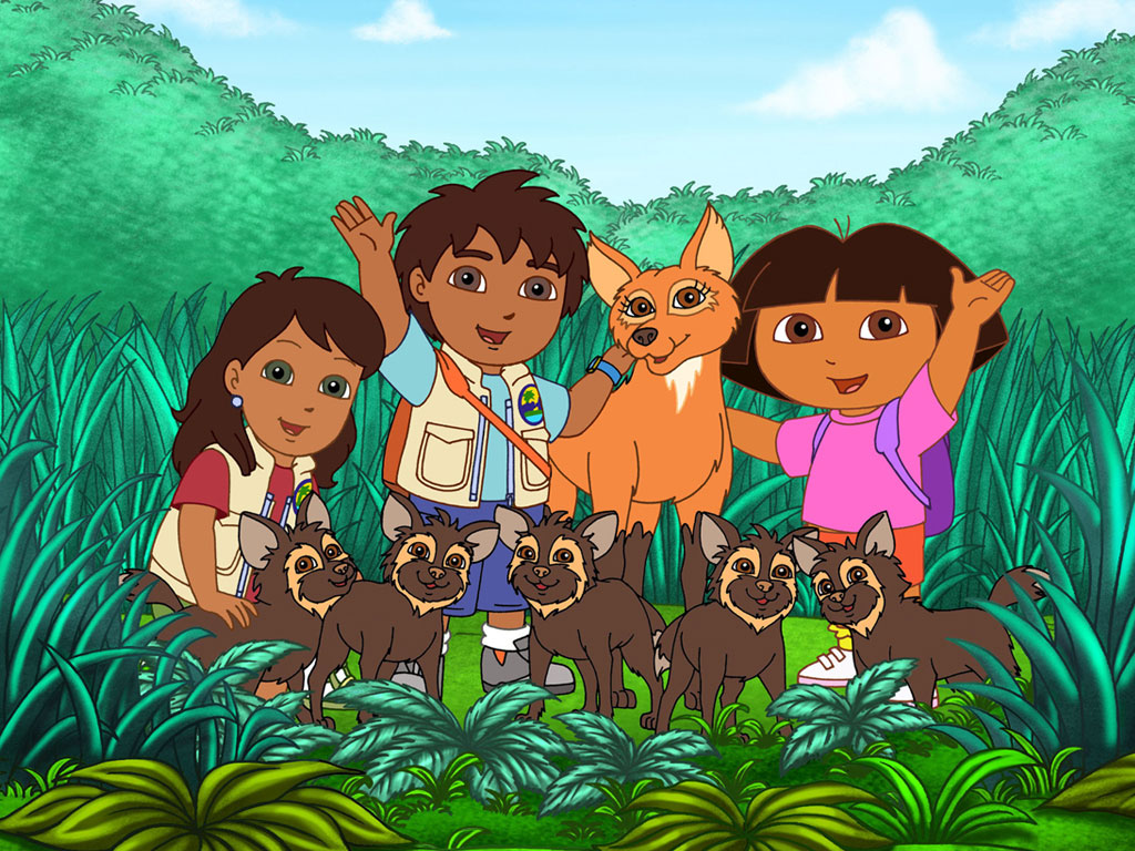 Dora And Diego Wallpapers