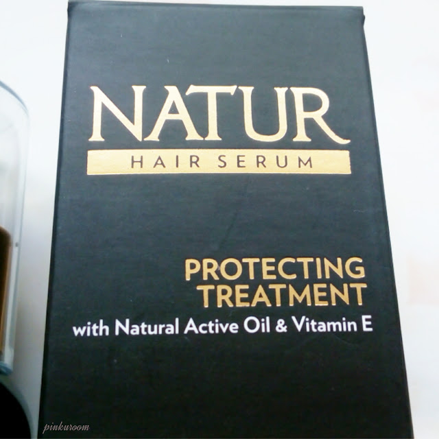 Natur Hair Serum Review Pinkuroom