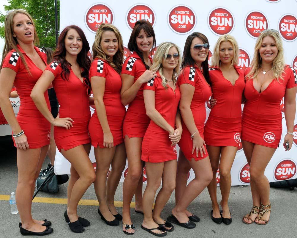 Toronto Grand Prix Tourist - A Toronto Blog: Ladies of the Honda Indy #Toronto 2014 - A Toronto Blog