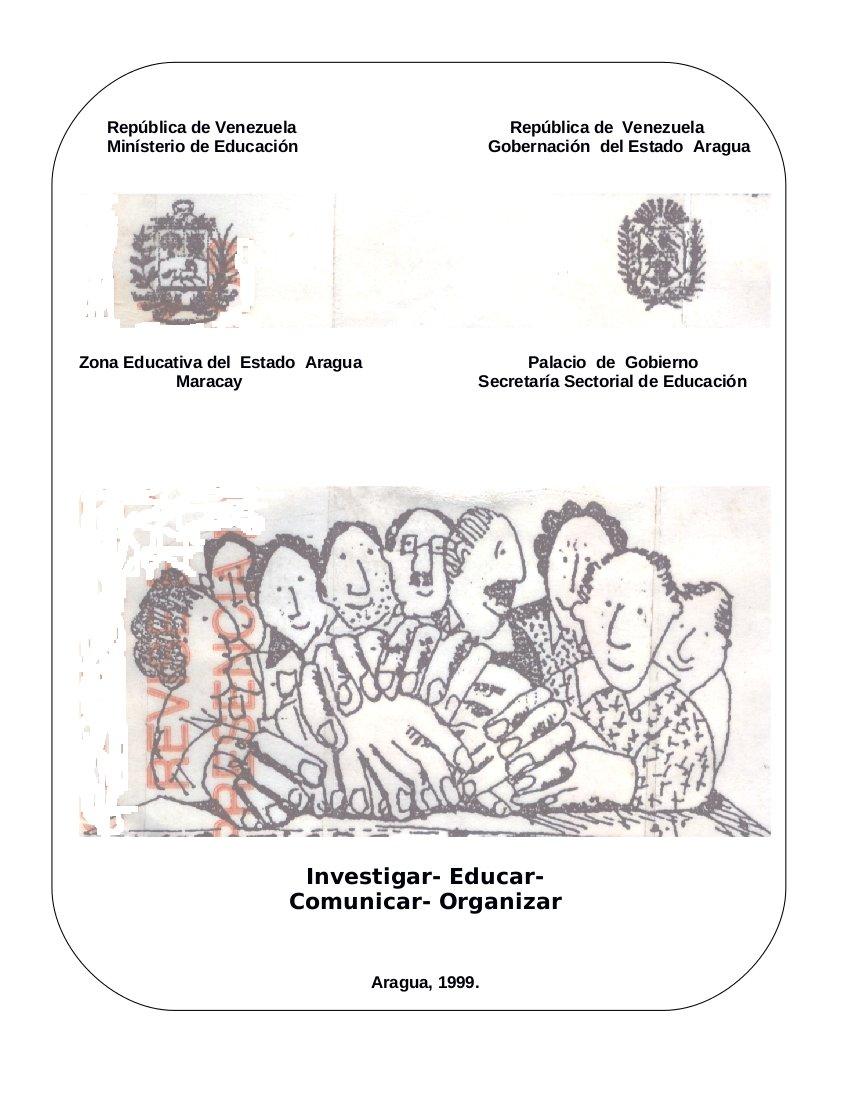 Digitalización del libro: Formación Permanente del docente Aragueño