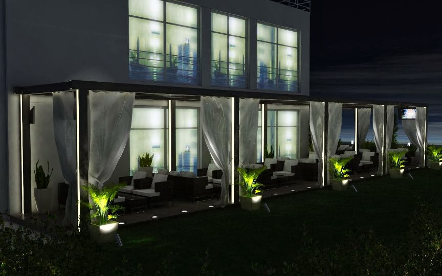 Bar garden 3D - 5
