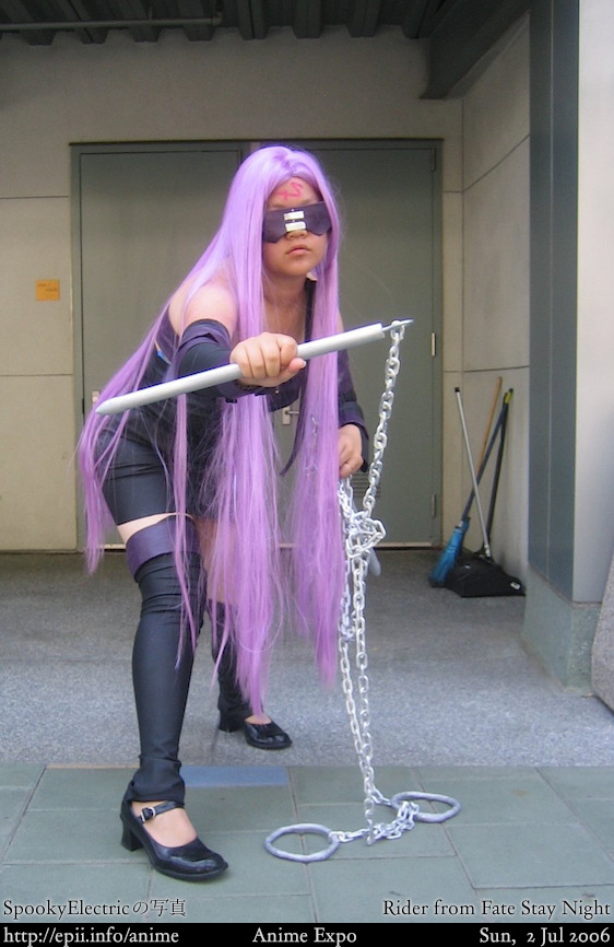 Cosplay Photos in Zip: Fate/Stay Night Rider Cosplay by