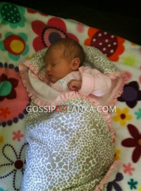 3-day old baby found in a hand bag hung on children's home gate at Anuradhapura