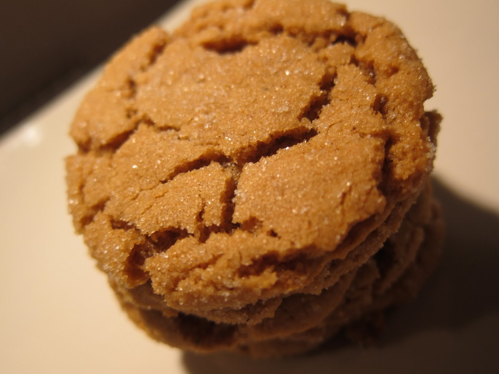 Andrea The Kitchen Witch: Molasses Spice Cookies