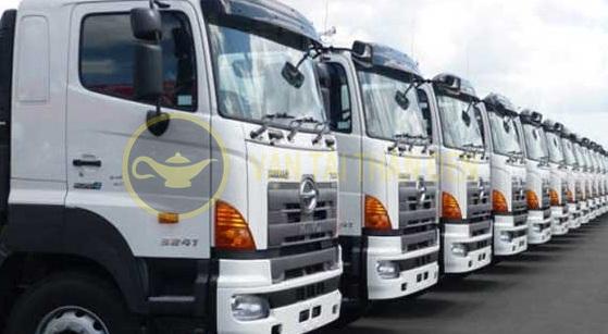 vận tải hàng hóa tết 2016