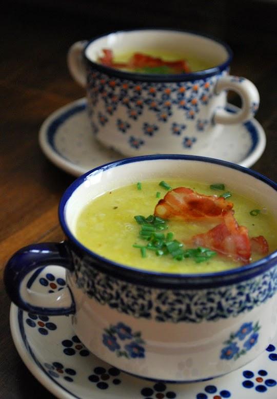 Zupa z porów i ziemniaków