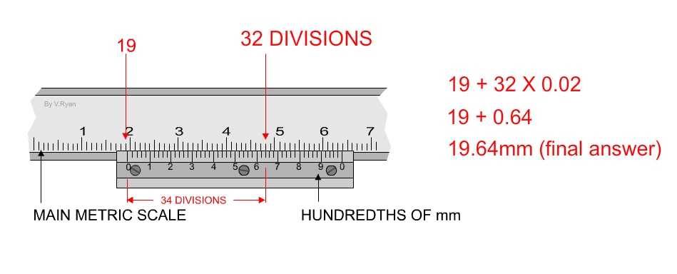 knowledge is power.......: How to read a vernier caliper