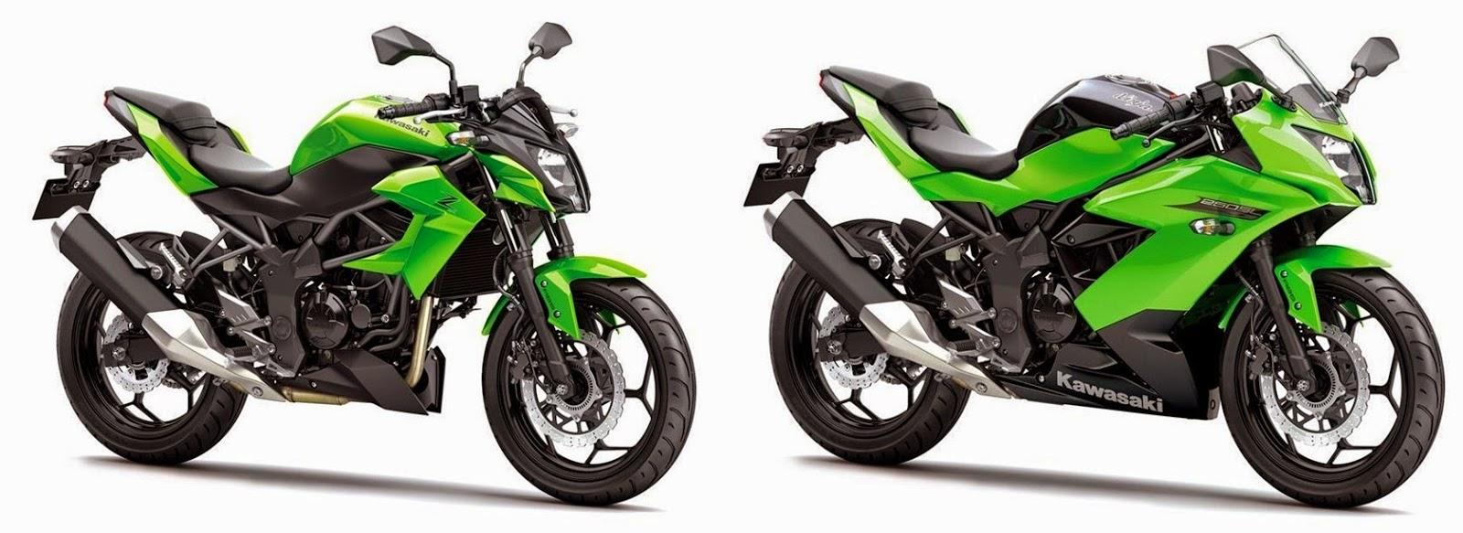 Sports Cycle: 2015 Kawasaki Ninja 250SL And Z250SL Review