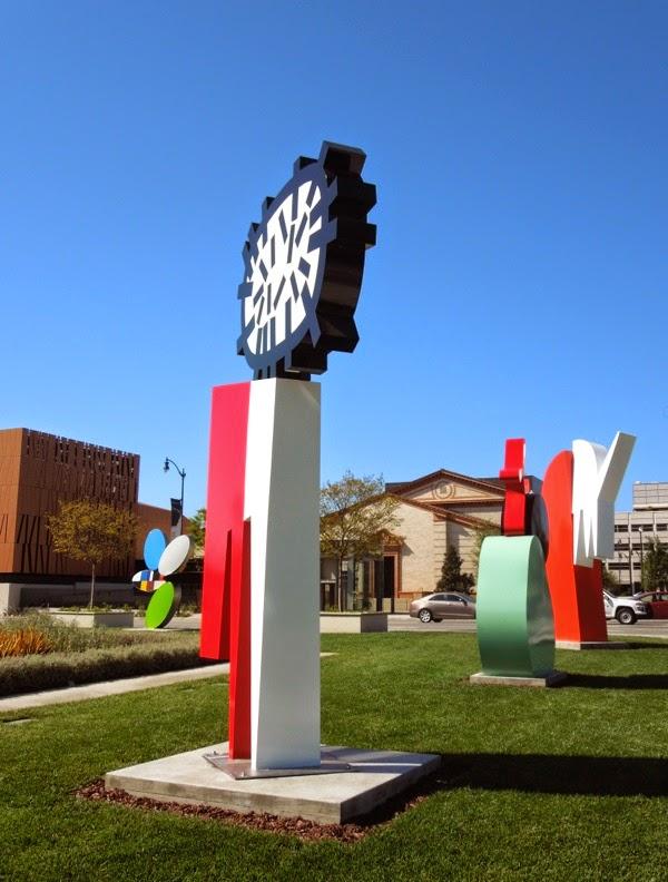 Beverly Hills City Hall outdoor sculptures