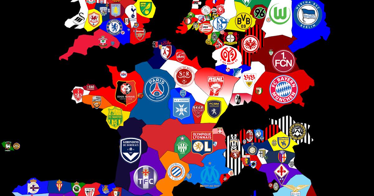 my ideas european club football map germany soccer logo wallpaper german soccer logo vector