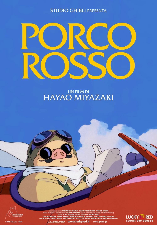 Porco Rosso Miyazaki recensione