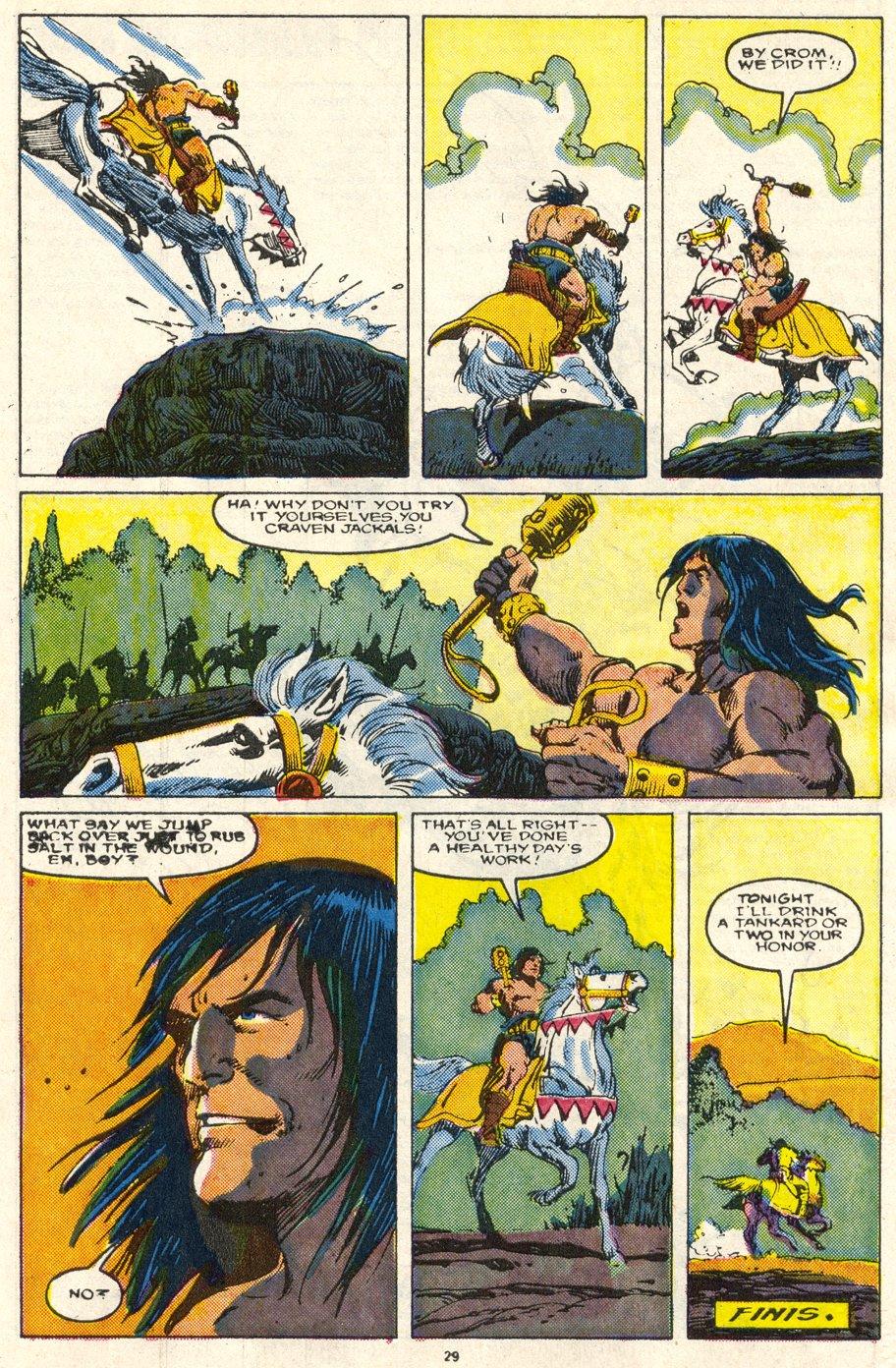 Conan the Barbarian (1970) Issue #219 #231 - English 23