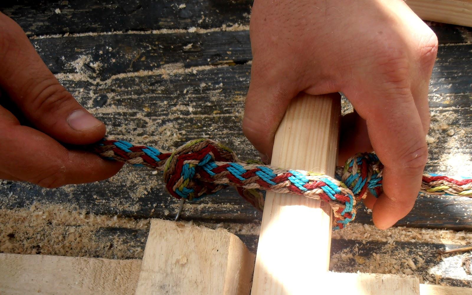 Веревочная лестница своими руками: процесс изготовления и 72