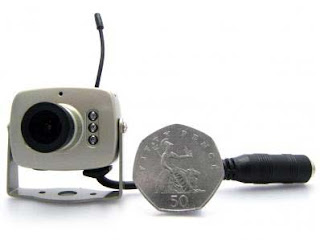 اصغر كاميرا لاسلكية
