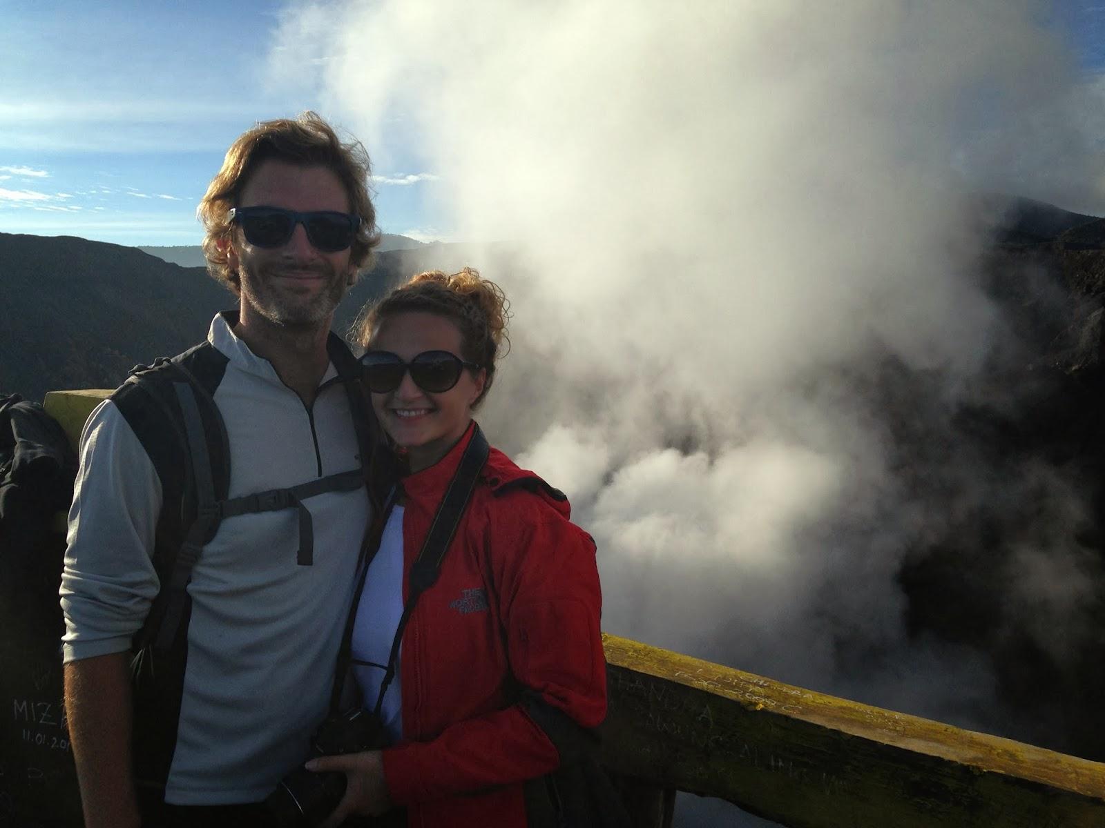 mount bromo smoking crater Indonesia
