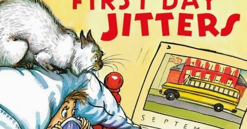 Dula mail first day jitters for First day jitters coloring page