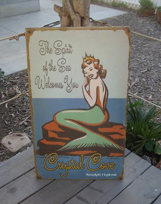 Mermaid, Spirit of the Sea, Crystal Cove, Serendipity Handmade