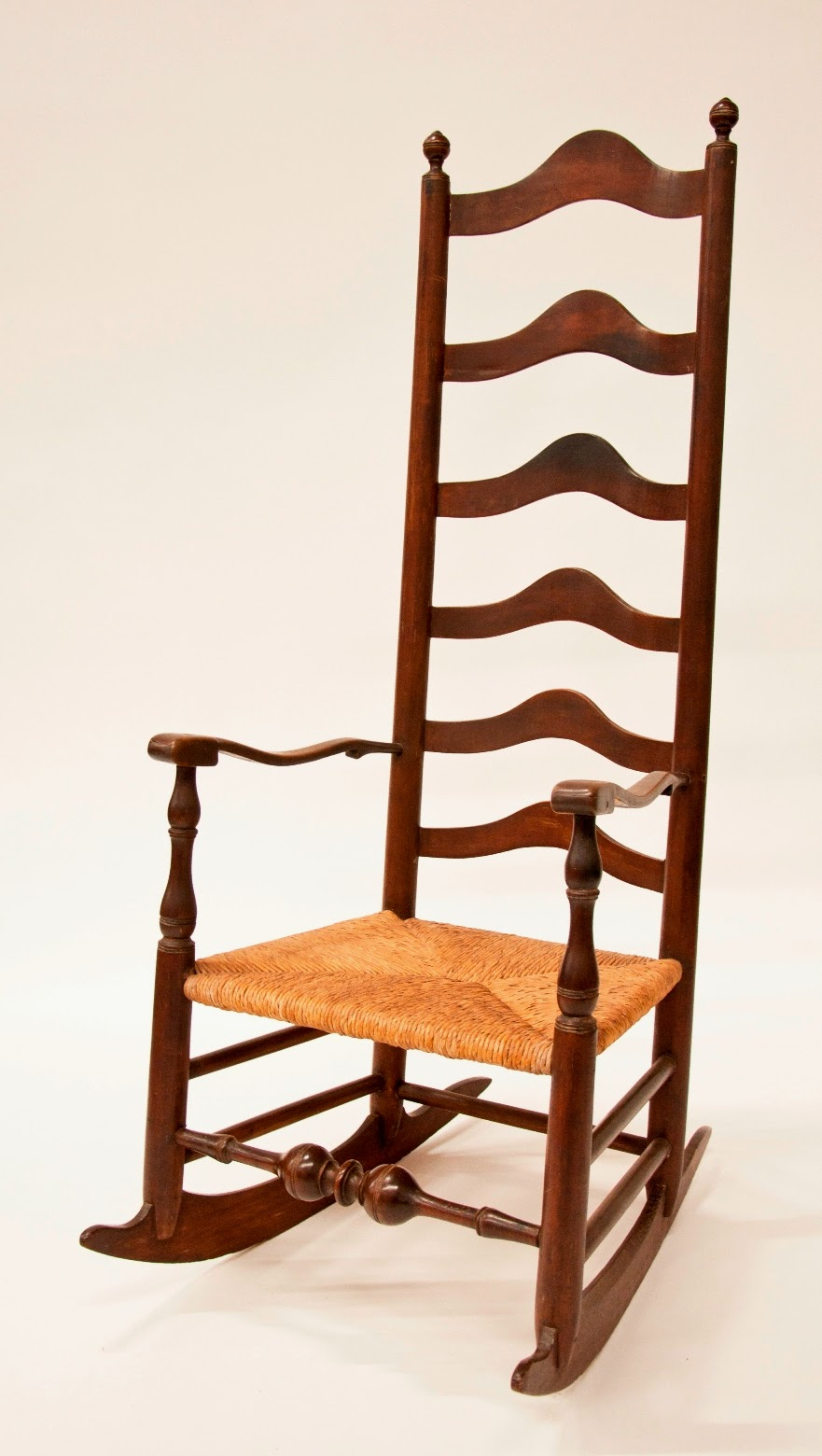 Delaware Valley Ladder Back Chair. Daniel Boone Homestead.ca. 18th Century.