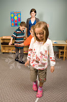 children walking line NAMC montessori perspectives on what is mindfulness