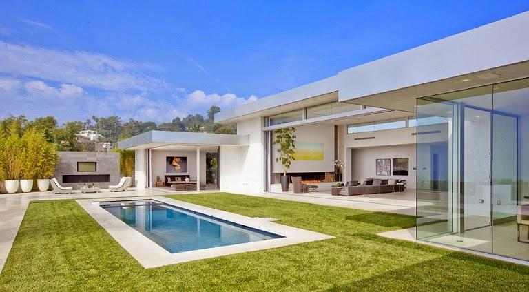 casa minimalista beverly hills mcclean design