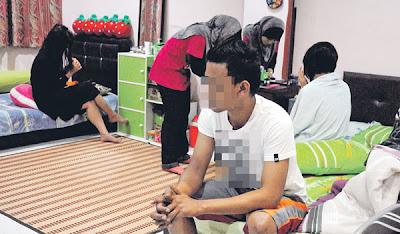 Suami Tangkap Isteri Sedang Berkhalwat