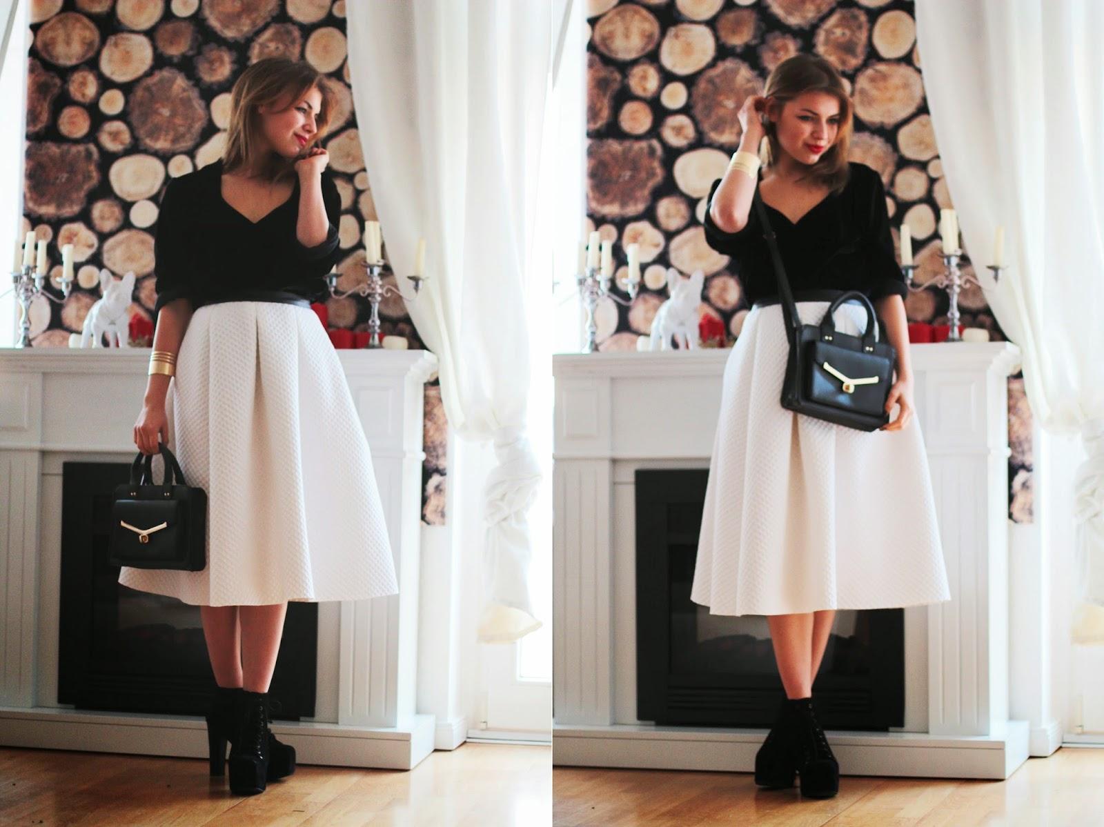 dress skirt jeffrey campbell blck litas look styles