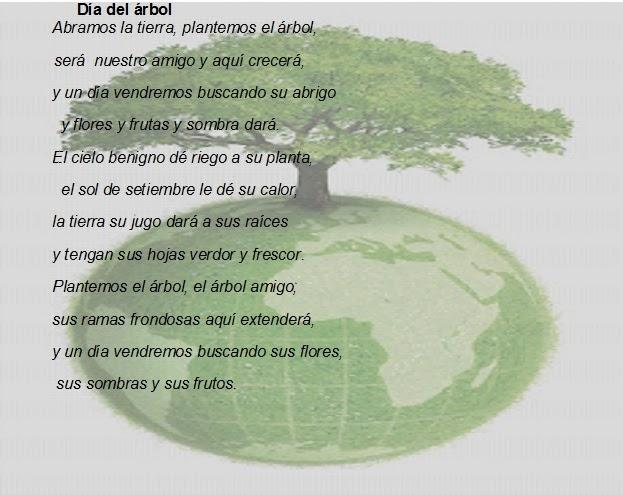 Imagenes y fotos: Dia del Arbol, Poemas