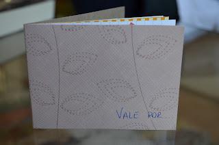 booklet vale por - regalo scrapbooking