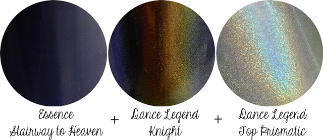 Layering with Dance Legend Knight & Top Prismatic