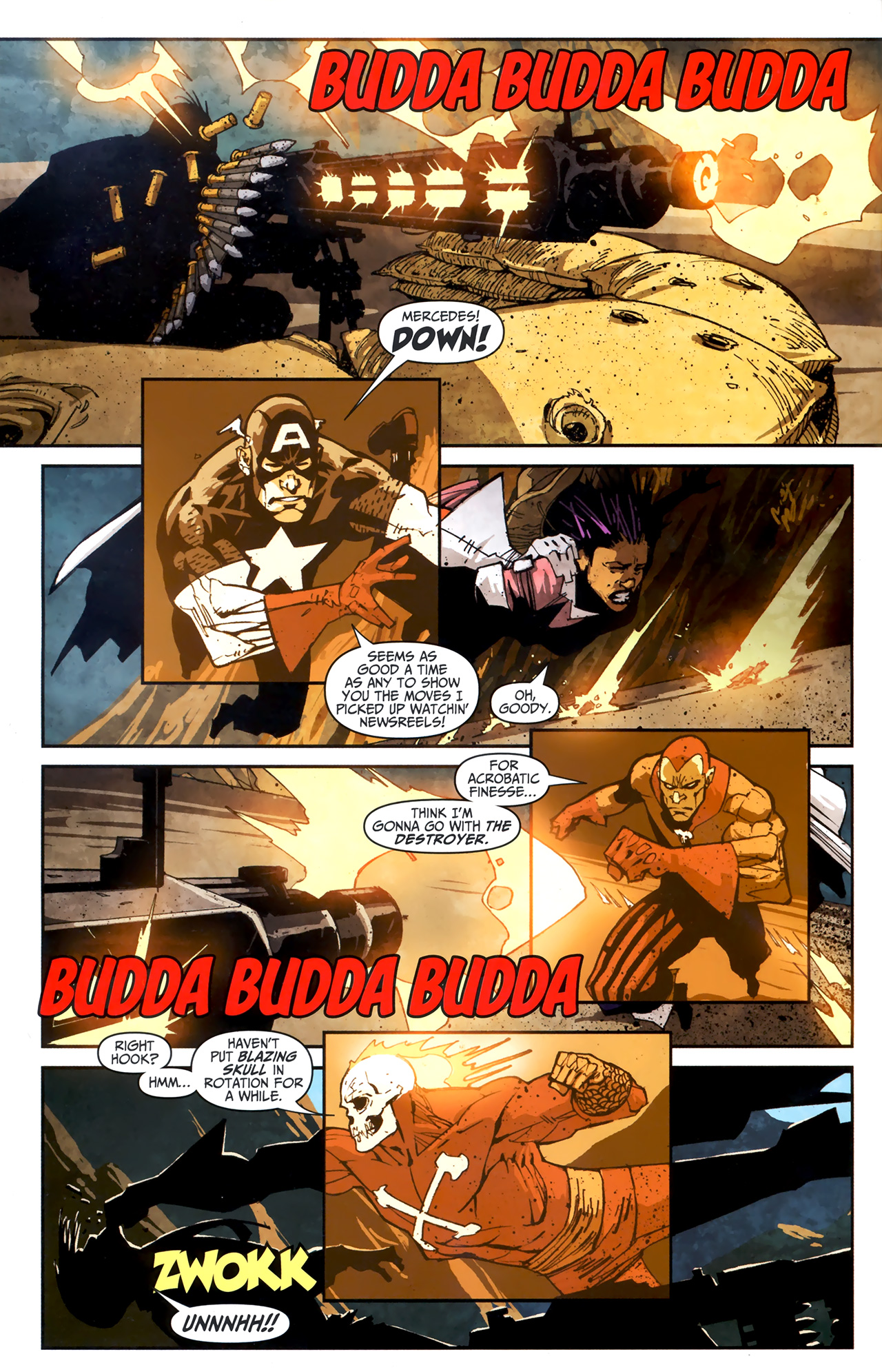 Read online Taskmaster (2010) comic -  Issue #3 - 5