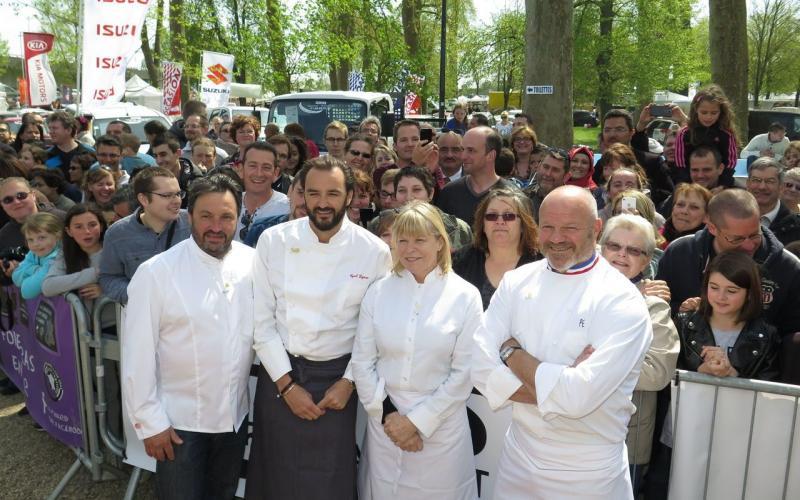 Le blog de jocelyne quatre chefs mobilisent la france for Cuisinier yves camdeborde
