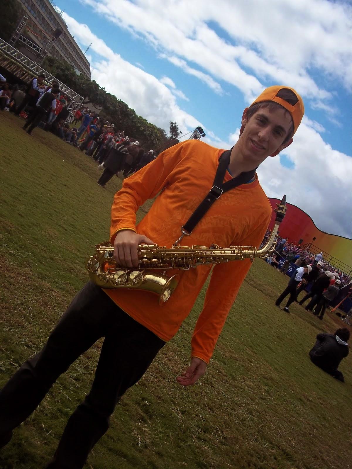 Franco Baldassini en Iguazú en Concierto 2014