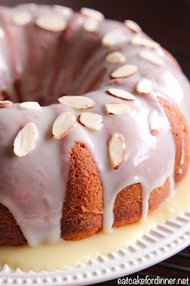 Banana Pudding Bundt Cake with White Chocolate Ganache