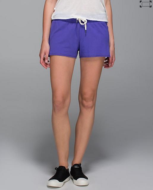 lululemon serenity shorts