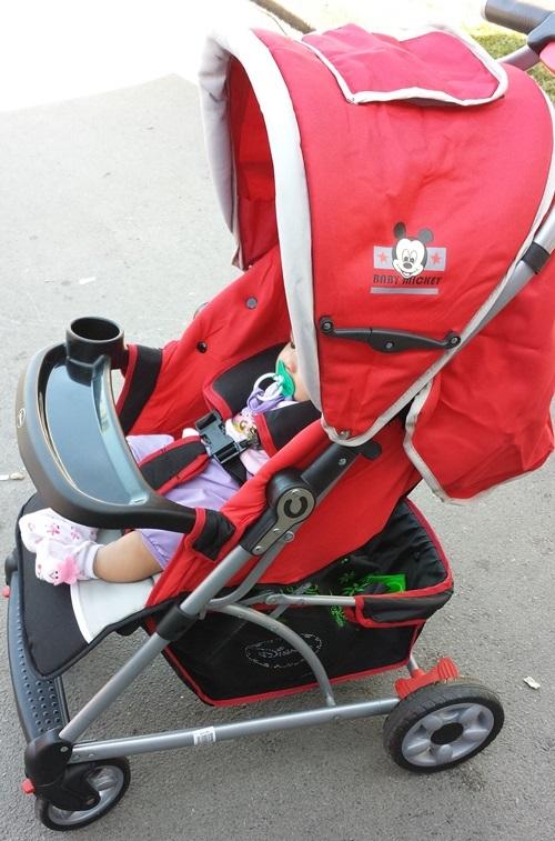 stroller disney, kereta sorong baby